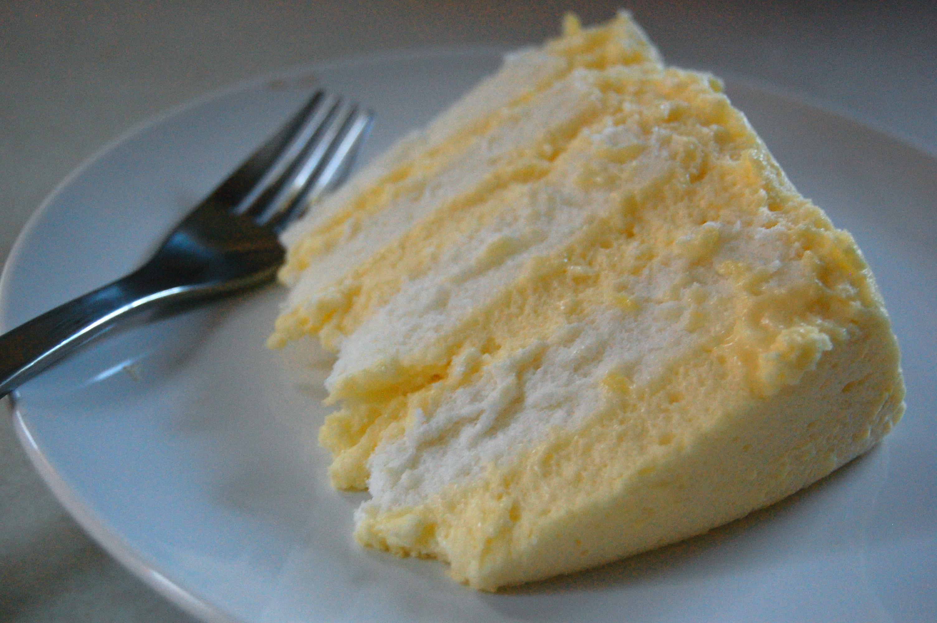 Lemon Icebox Cake With Angel Food Cake