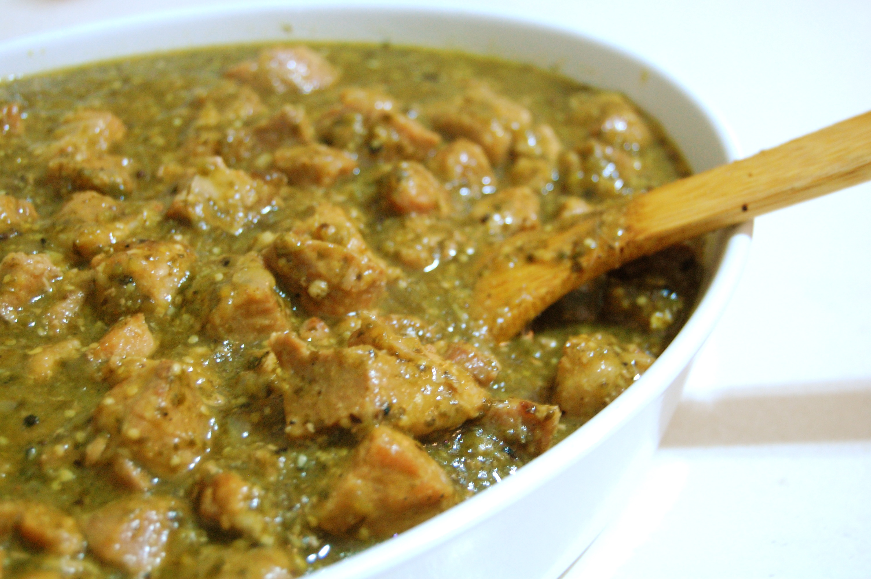 Chili Verde! | I made that!