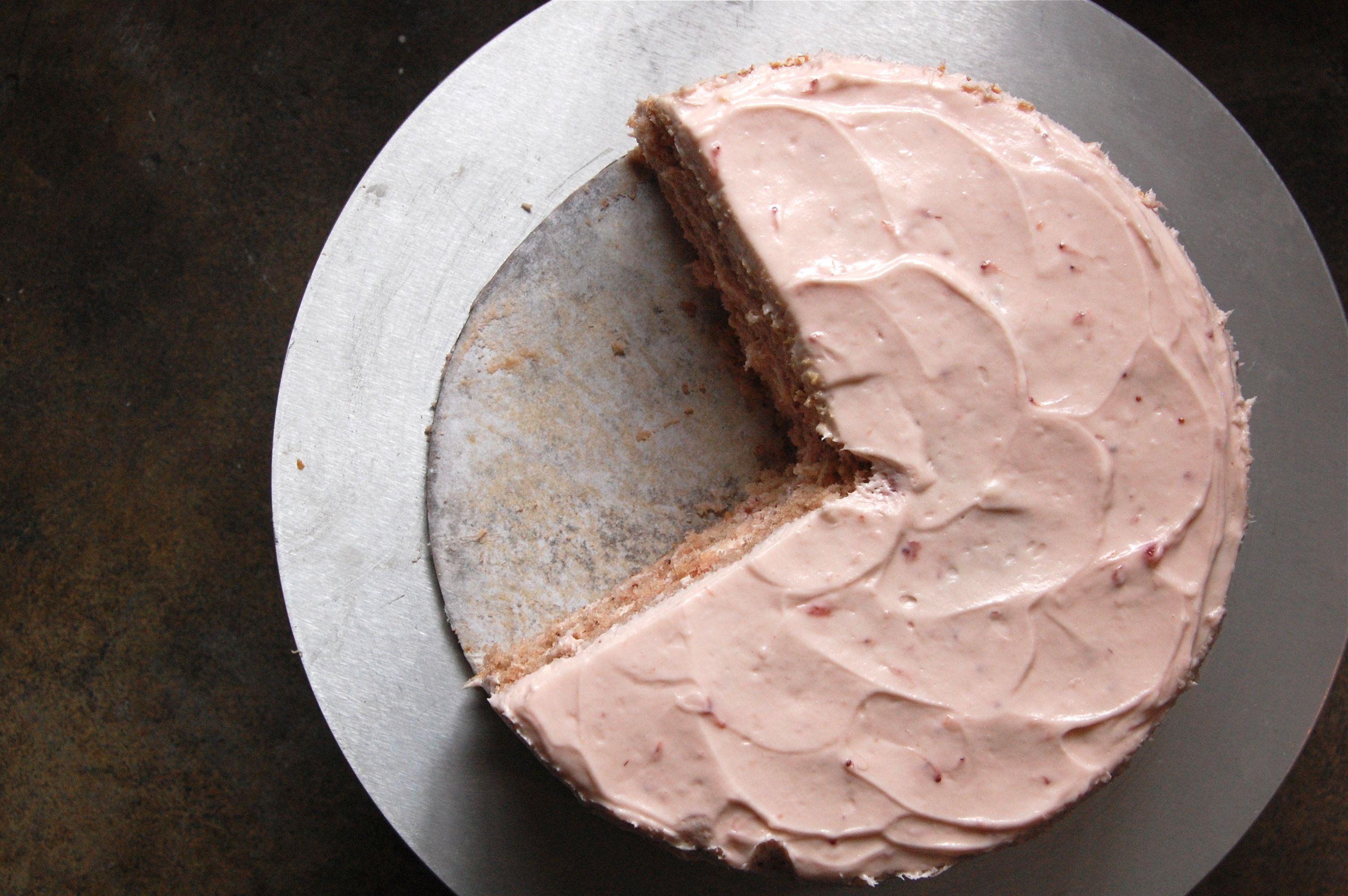 Edgars Strawberry Pound Cake